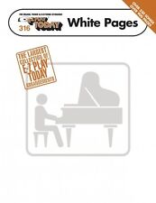 E-Z Play Today White Pages Sheet Music E-Z Play Today Book NEW 000100234