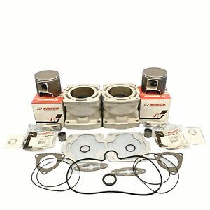 POLARIS-800-non-Ves-Double-Cylindres-Wiseco-Piston-Kit-Haut-Fin-Joints-2000-2001
