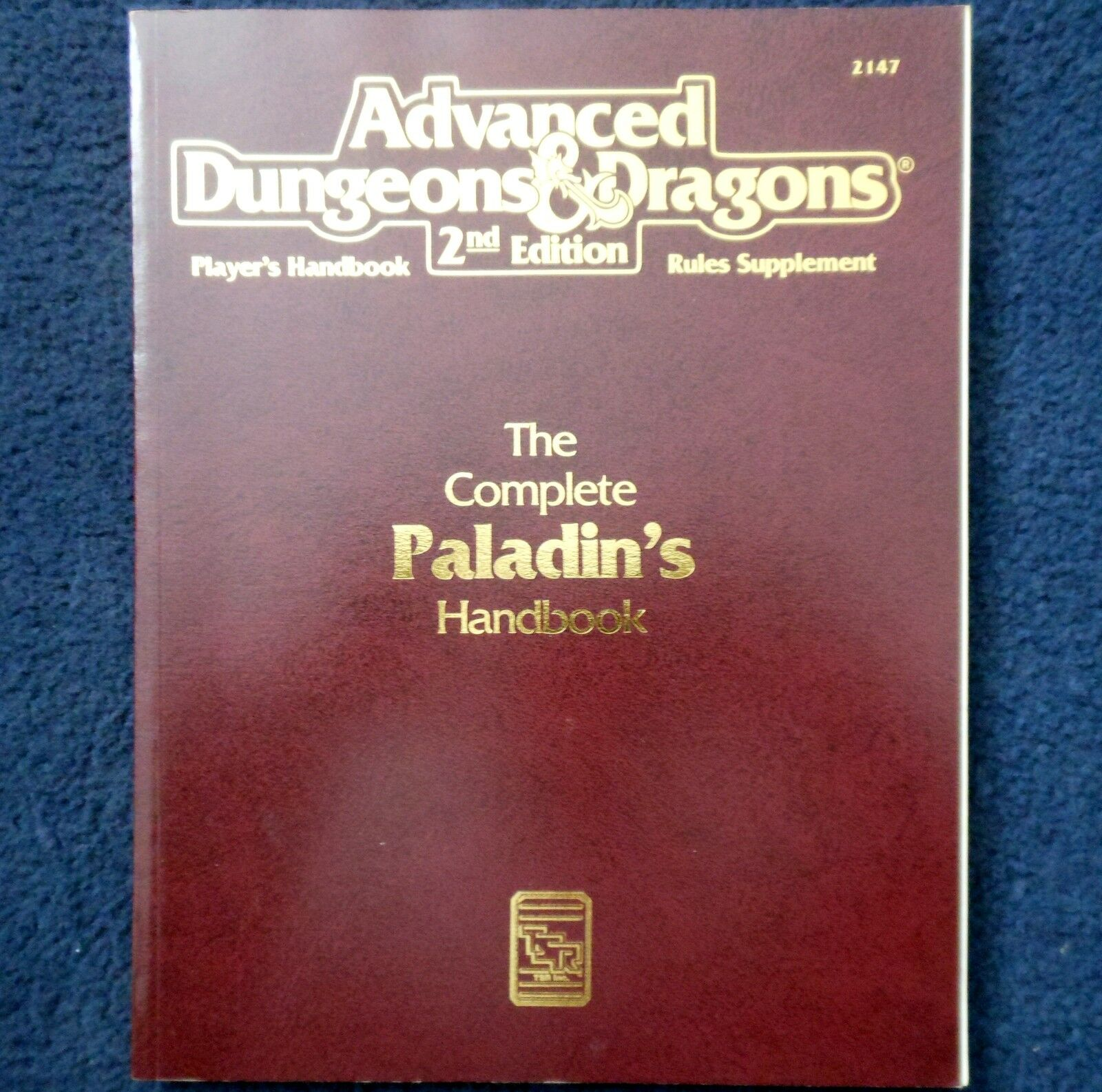 2110 The Complete Fighters Handbook Advanced Dungeons & Dragons D&D RPG Players