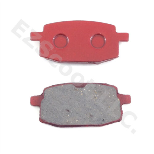 BRAKE PADS FRONT RED CHINESE SCOOTER 50cc GY6 2/&4 STROKE ATV TANK ZNEN VIP SUNL