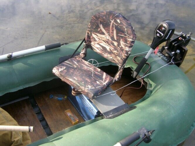 SWIVEL CHAIR FOR THE PONTOON, COMFORTABLE ROTARY FISHING RUBBER BOAT Sitz PARTS
