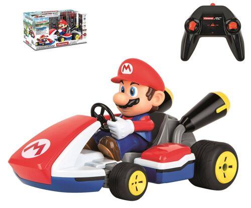 Mario Race Kart mit Sound 1:16 2,4 GHz Carrera 62107 RC Mario Kart