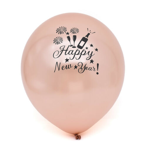 2019 Happy New Year Latex Balloon Birthday Wedding Party Decor Christmas Balloon