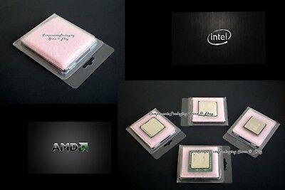 AMD Ryzen Processor Clamshell Case for Socket AM4 CPU/'s Anti Static Foam New