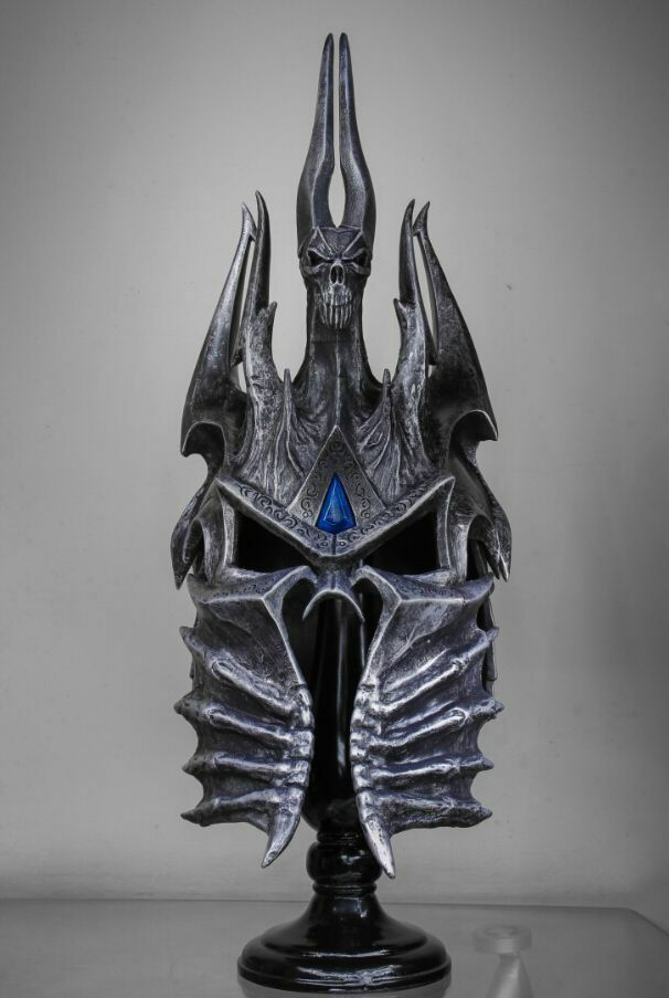 Perfect Wow World Of Warcraft Helm Of Domination Lich King Death Knights Helmet