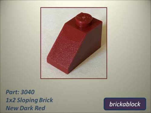 35281 1x2 Sloped Brick Choose 2,5,10,15,20,30,40 or 50 NEW Lego Part 3040