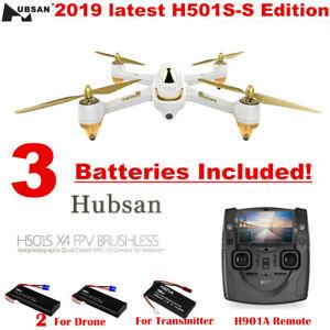 Hubsan H501S X4 FPV Drone 1080P Camera GPS RC Quadcopter...