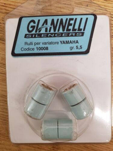Set Of 3 Yamaha Zuma Roller Weights 5.5 Gram