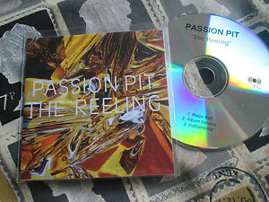 Passion Pit  The Reeling  Frenchkiss Records  CDr PROMO CD Single - <span itemprop='availableAtOrFrom'>Coalville, United Kingdom</span> - Passion Pit  The Reeling  Frenchkiss Records  CDr PROMO CD Single - Coalville, United Kingdom