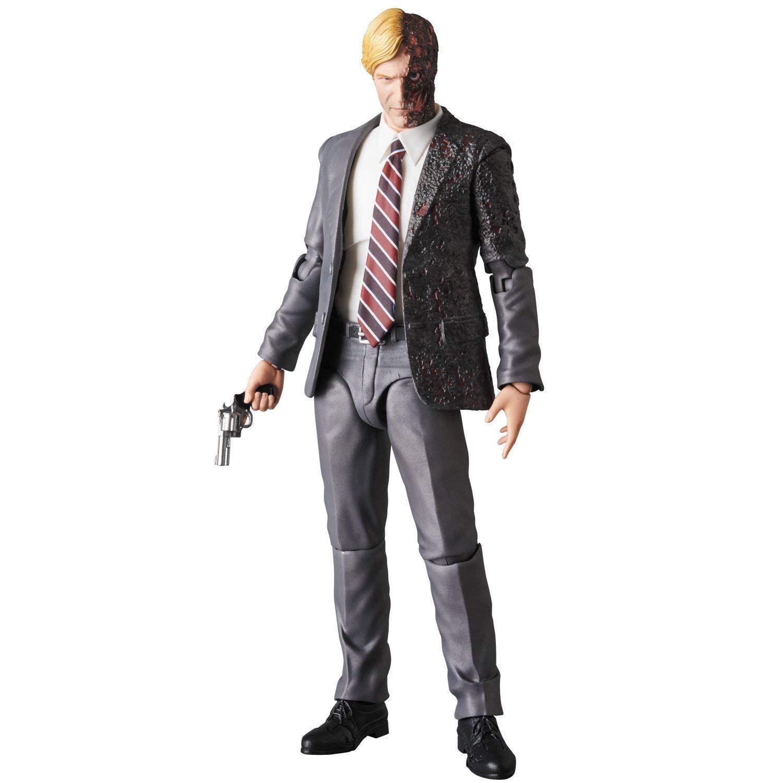 The Dark Knight Harvey Dent Mafex Action Figure