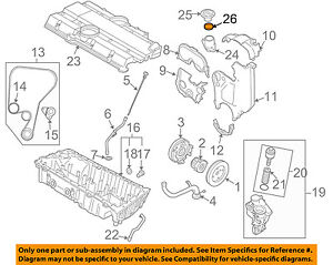 volvo oem 08-13 c30 engine parts-filler cap o-ring 925063 | ebay