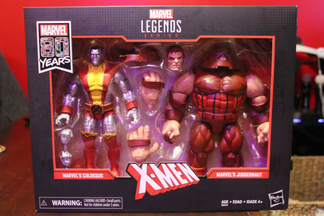Marvel Legends 80th Anniversary X-Men Colossus and Juggernaut 2 Pack New