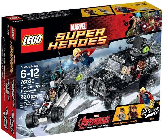 LEGO Marvel Super Heroes - 76030 Avengers Hydra Showdown mit Thor - Neu & OVP