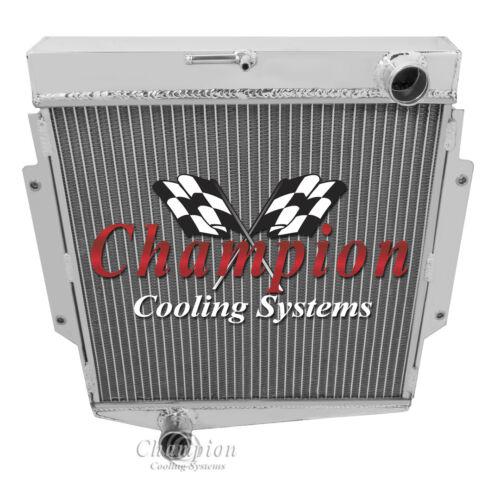 1963-1968 Datsun Fairlady All Aluminum 3 Row Core Champion WR Radiator