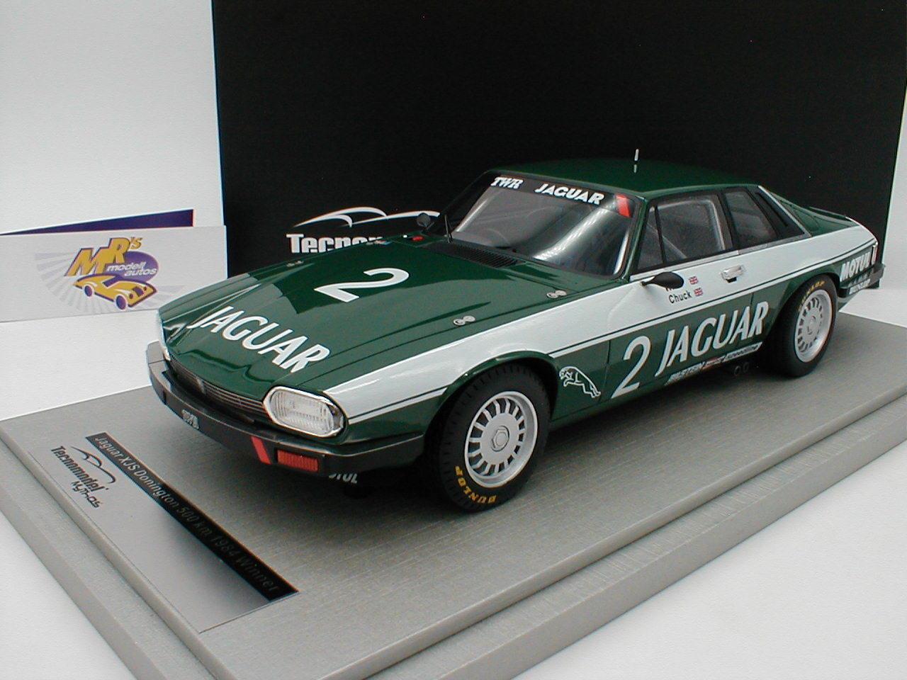 TECNOMODEL tm18-107d - Jaguar XJS XJS XJS No. 2 cet traité Donington Winner 1984 1 18 nouveauté c54208