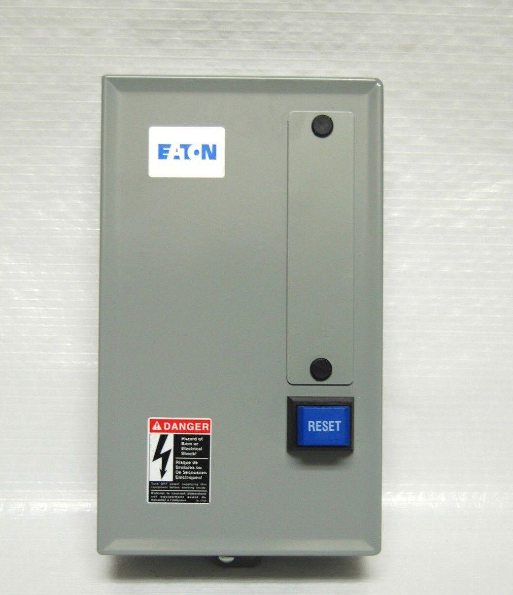 Eaton Magnetic Motor Starter 10 Hp 230 Volt Single Phase