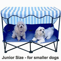 Dog Kot To Trot Junior Outside Travel Bed Shade Patio Terrier Kennel House