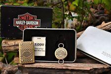 Zippo Lighter - Harley Davidson Bolted Diamond Plate Key Ring HD367 204BHD H285