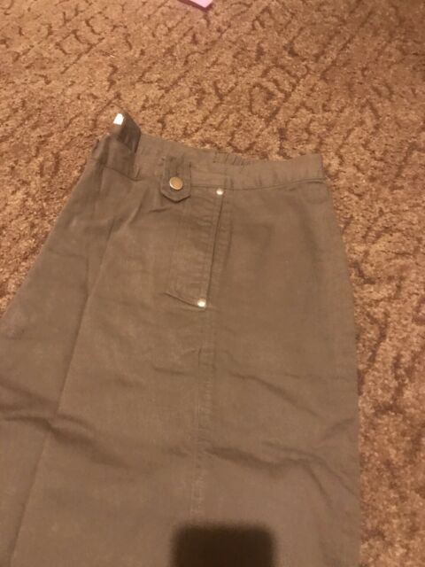 BNWT  Casual Comfort Simply be Sage Casual trousers Size 28