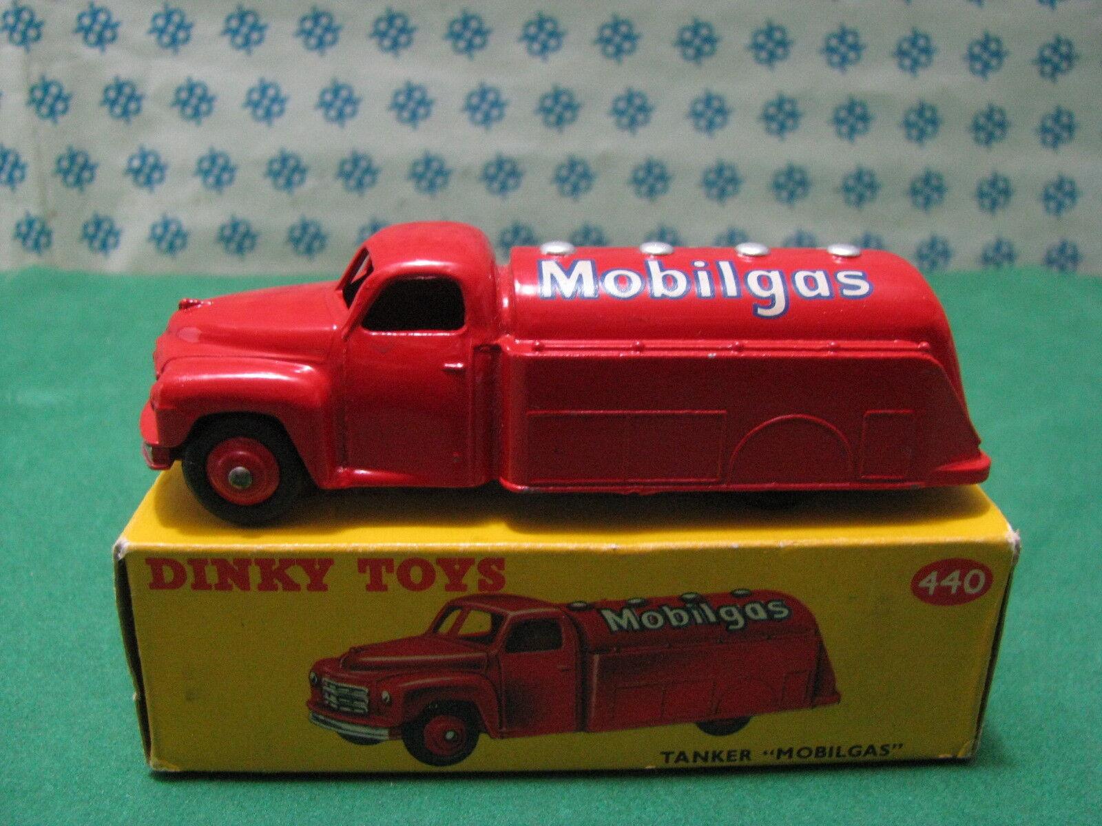 Vintage - Tanker Mobilgas - Dinky Toys 440 Nouveau   Mint Boîte