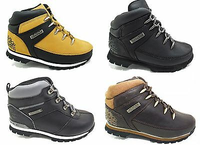 New Boys TIMBERLAND Leather Boots Kids