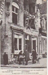 Ypres Kleiner Verkäufer vor Ruine ngl 201.010