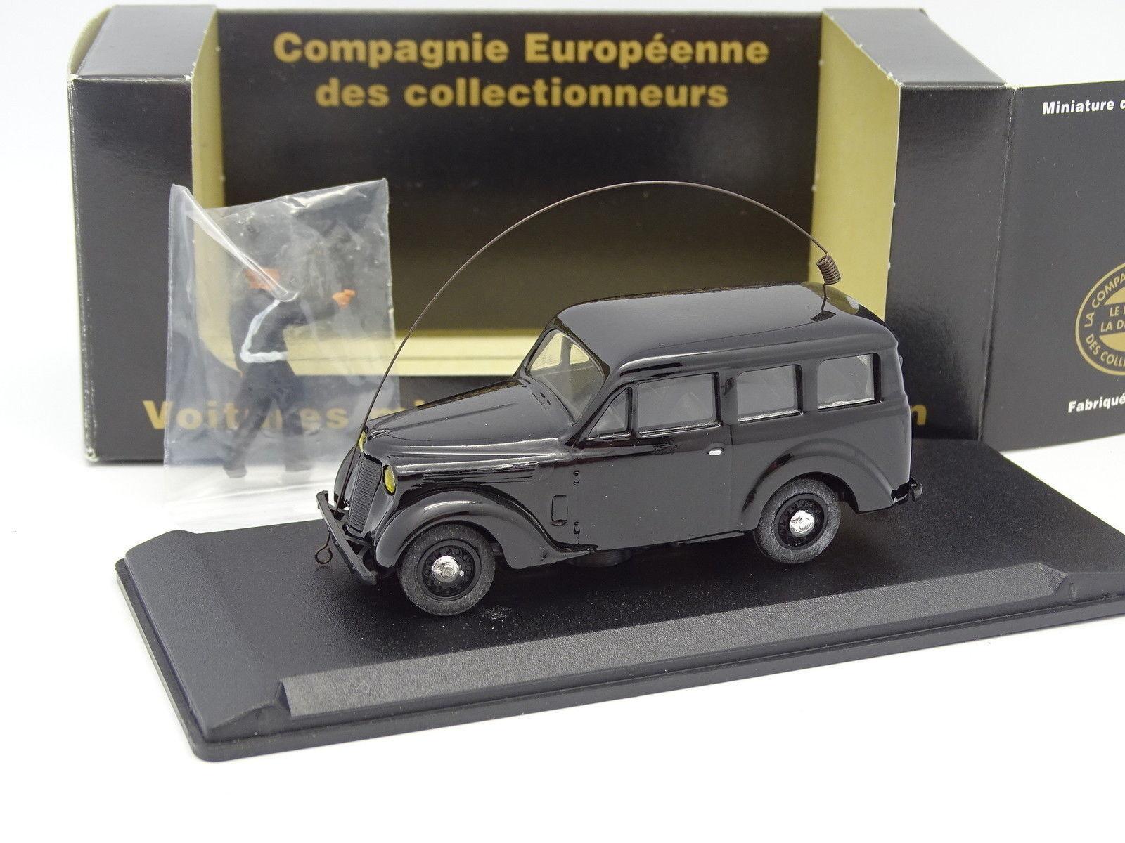 Puntero Resina CEC 1 43 - Renault 4cv Gendarmería
