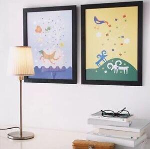 1x new ikea limited edition black 30cm x 40cm a3 picture frame photo frame ebay. Black Bedroom Furniture Sets. Home Design Ideas