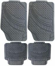 Citreon DS2 DS3 DS4 Universal Rubber  PVC Car Mats Heavy Duty 4pc No Smell