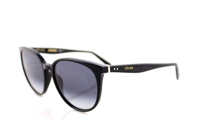 0ee9907bd7 RARE Authentic CELINE THIN MARY Ladies Black Grey Sunglasses CL 41068 S 807  W2