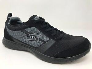 New-Women-039-s-Skechers-23306-Microburst-Slip-On-Athletic-Shoes-Black-C43