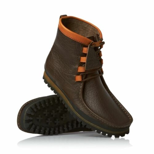 Clarks Original WALLABEES WAY BROWN GRAIN UK 6.5,7,7.5,8,9,9.5,10,11,12