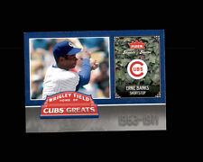 2004 FLEER GREATS OF THE GAME CUBS GREATS ERNIE BANKS  #CHC-EB (C)