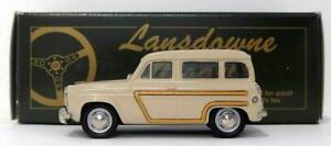 Lansdowne-Modelos-Escala-1-43-LDM20-1956-Ford-Squire-Estate-Beige