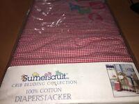 Diaper Stacker Sumersault Abc Apple Design