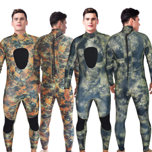 3MM Camouflage  Full Body Wetsuit SCUBA Dive Skin Free Diving Spear Fishing S-3XL  export outlet