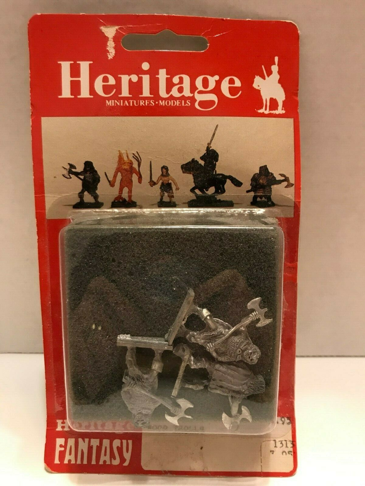 Heritage 25mm Miniatures NIB Dungeons & Dragons 1313 AD&D Wood Trolls