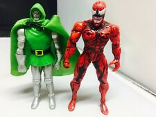 Vintage Spider-Man the Animated Series Lot of 2 Action Figures 1990's Carnage