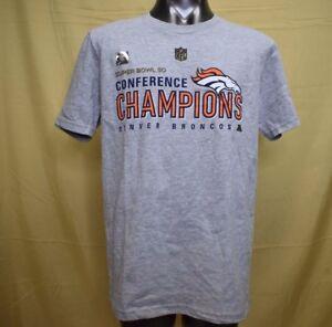 36934e66 NFL Team Apparel Youth Denver Broncos Super Bowl 50 Champions Shirt ...
