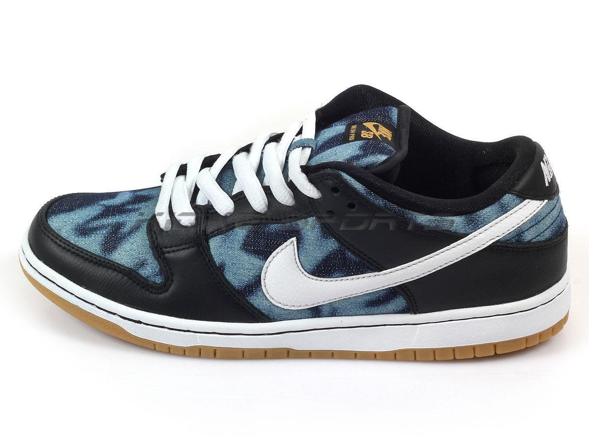 Nike DUNK PREMIUM LOW PREMIUM DUNK FT SB QS negro Blanco Midnight Navy (504) Hombre Zapatos 92f295