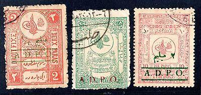 Libanon Syrien Tuerkei 585ms Drei Adpo Revenues Verwendet In Aleppo Damaskus & Moderater Preis Libanon Briefmarken