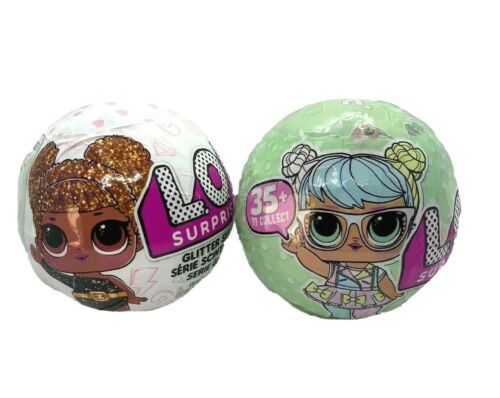 Surprise Glitter Series Series 1 series 2 green ball bundle Authentic L.O.L
