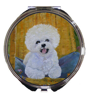 Bichon Frise Compact Mirror