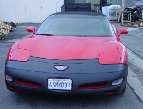 Colgan Front End Mask Bra 2pc Fits Chevy Corvette 1997-04 W//License /& Emblem