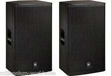 NEW - PAIR - ELECTRO-VOICE ELX115P - 15-INCH 2-WAY POWERED SPEAKER - 1000W / EV