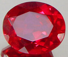 UNHEATED 9X11MM OVAL CUT 4.36Ct VVS PIGEON BLOOD RED RUBY AAAA+ GEMSTONE