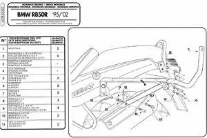 635F-GIVI-ATTACCO-BAULETTO-MONOKEY-MONOLOCK-per-BMW-R-850-R-1995-1996-1997-1998