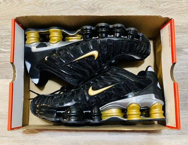 Nike Shox TL Neymar Jr Black Metallic