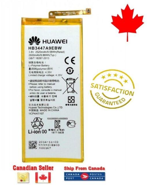 Original OEM Huawei P8 Replacement Battery HB3447A9EBW 2600mAh + Tools