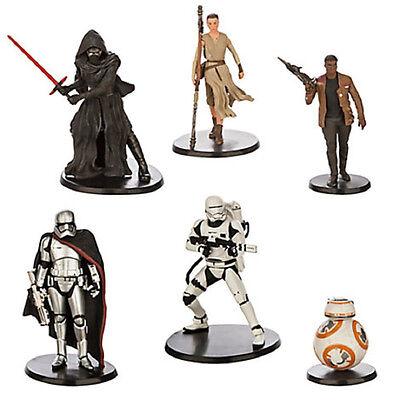 Disney store Authentic Kylo Ren Figurine Cake Topper Star Wars Ben solo NEUF
